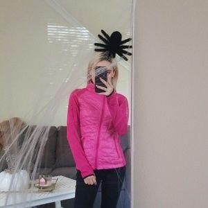 size zip Calvin Klein hot pink jacket